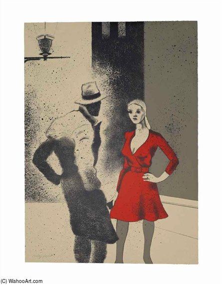 a vita di Ronald Brooks Kitaj (1932-2007, United States)
