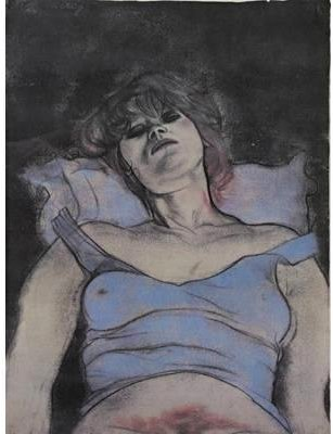 Mary Ann di Ronald Brooks Kitaj (1932-2007, United States)