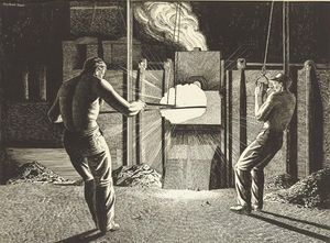Rockwell Kent - America-s nell-industria siderurgica