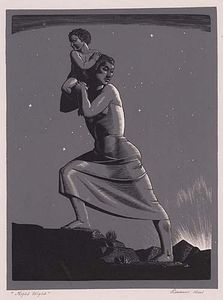 Rockwell Kent - Volo di notte