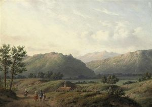 Carl Eduard Ahrendts - Summer In The Shire
