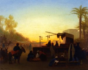 Charles Théodore Frère - Cairo Mercato