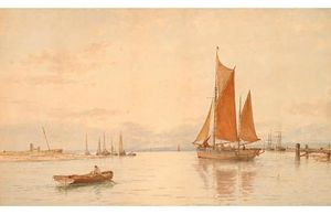 George Stanfield Walters - Ryde Harbour