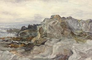 Alexander Ballingall - Rocce Di Dunure , Ayrshire