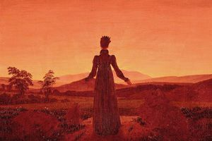 Caspar David Friedrich - mattino luce
