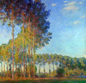 Claude Monet - Peupliers au bord de l_Epte Sole