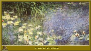 Claude Monet - nympheas - mattutino