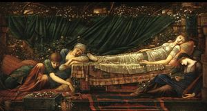 Edward Coley Burne-Jones - La bella addormentata