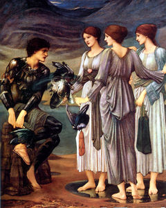 Edward Coley Burne-Jones - L inserimento di Perseo
