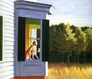 Edward Hopper - Cape Cod Mattina