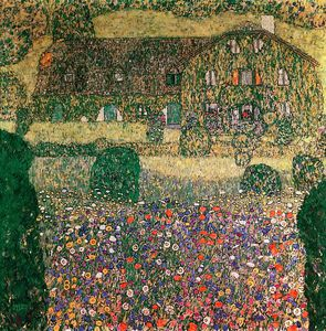 Gustav Klimt - Country House by the Attersee