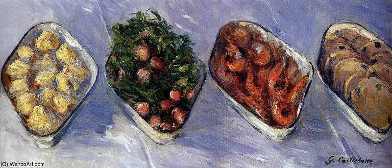 antipasto di Gustave Caillebotte (1848-1894, France)
