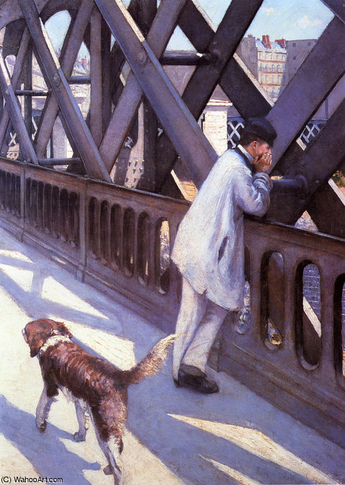L Europe Le Pont di Gustave Caillebotte (1848-1894, France)