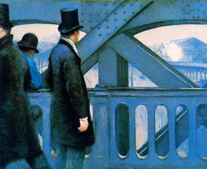 Gustave Caillebotte - l'europa ponte  sole