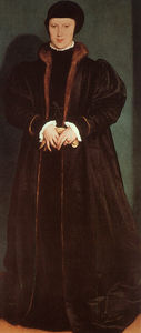 Hans Holbein The Younger - Cristina di Danimarca