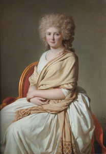 Jacques Louis David - ritratto anna marie louise thelusson