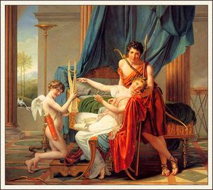 Jacques Louis David - Saffo e Faone
