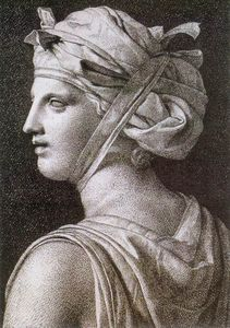 Jacques Louis David - donna in un turbante