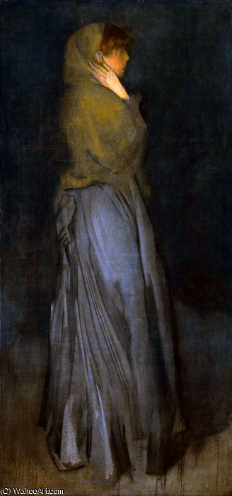 decani disposizione effie sole di James Abbott Mcneill Whistler (1834-1903, United States)