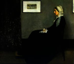 James Abbott Mcneill Whistler - Arrangiamento in grigio e nero