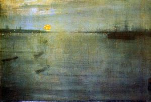 James Abbott Mcneill Whistler - nocturn sole