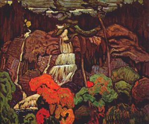 James Edward Hervey Macdonald - algoma cascata