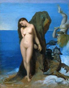 Jean Auguste Dominique Ingres - Perseo e Andromeda