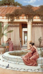 John William Godward - Innocenti trastulli