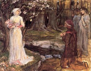 John William Waterhouse - Dante e Beatrice