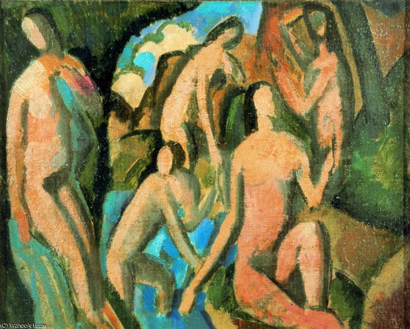 untitled (7389) di André Derain (1880-1954, France) | Copia Pittura | WahooArt.com