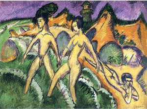 Ernst Ludwig Kirchner - senza titolo 7458