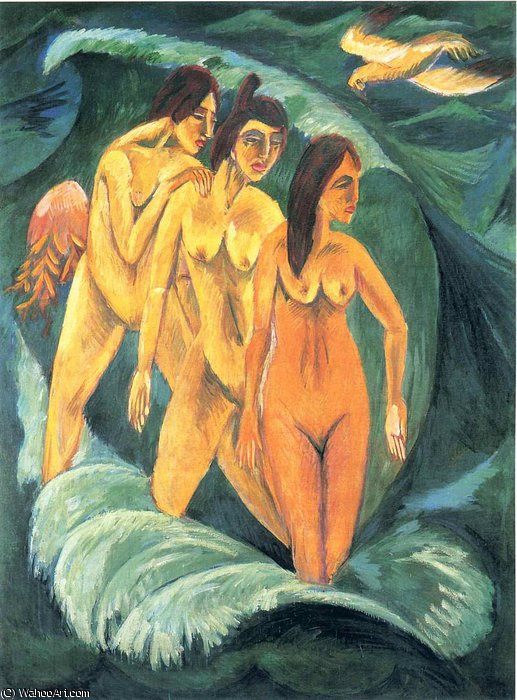 senza titolo 4627   di Ernst Ludwig Kirchner (1880-1938, Germany)