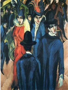 Ernst Ludwig Kirchner - senza titolo 3414