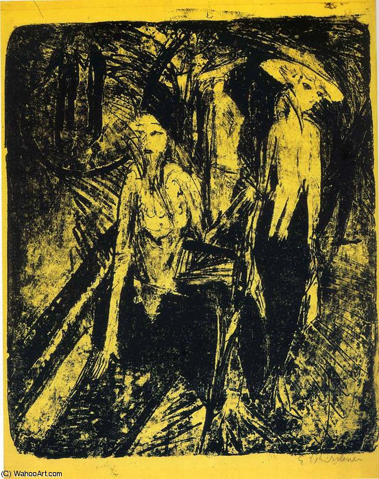 untitled (9614) di Ernst Ludwig Kirchner (1880-1938, Germany)