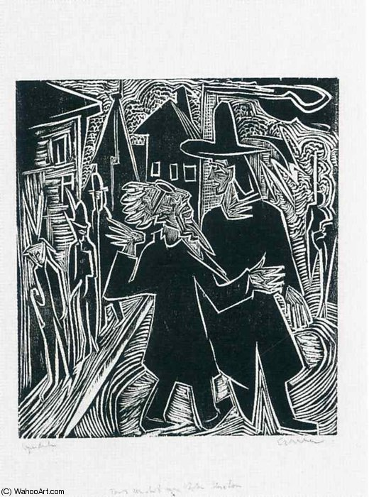 untitled (1301) di Ernst Ludwig Kirchner (1880-1938, Germany)