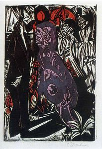 Ernst Ludwig Kirchner - senza titolo 5933