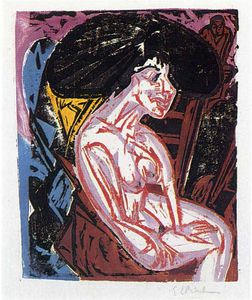 Ernst Ludwig Kirchner - senza titolo 1868
