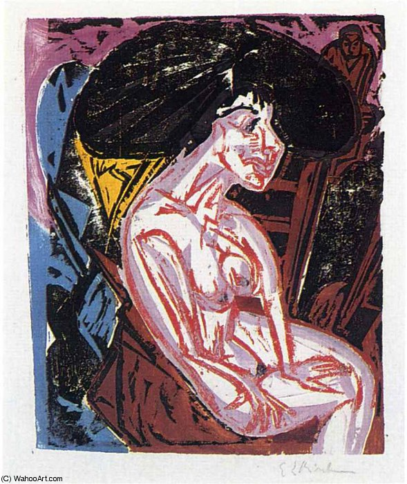 senza titolo 1868   di Ernst Ludwig Kirchner (1880-1938, Germany)