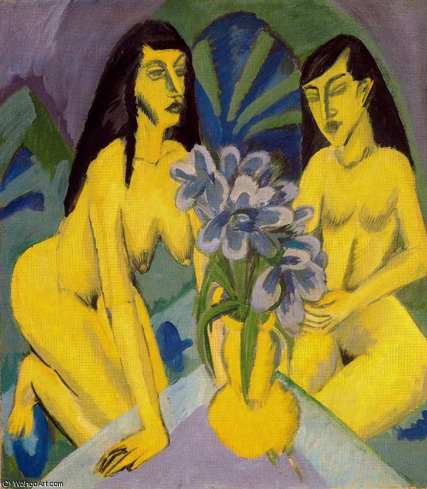 senza titolo 6930   di Ernst Ludwig Kirchner (1880-1938, Germany) | WahooArt.com