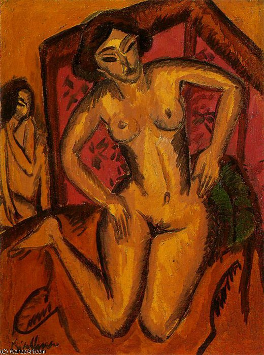 senza titolo 1963   di Ernst Ludwig Kirchner (1880-1938, Germany) | WahooArt.com