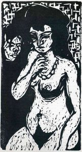 Ernst Ludwig Kirchner - senza titolo 845