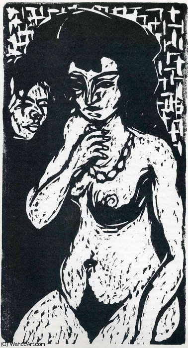 senza titolo 845   di Ernst Ludwig Kirchner (1880-1938, Germany)