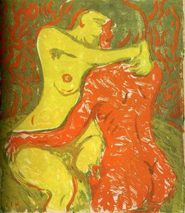 Ernst Ludwig Kirchner - senza titolo 6766