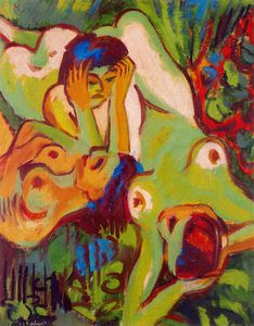 Ernst Ludwig Kirchner - senza titolo 9055