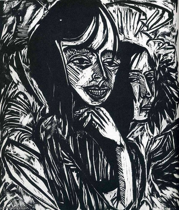 senza titolo 364   di Ernst Ludwig Kirchner (1880-1938, Germany)