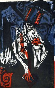 Ernst Ludwig Kirchner - senza titolo 9389