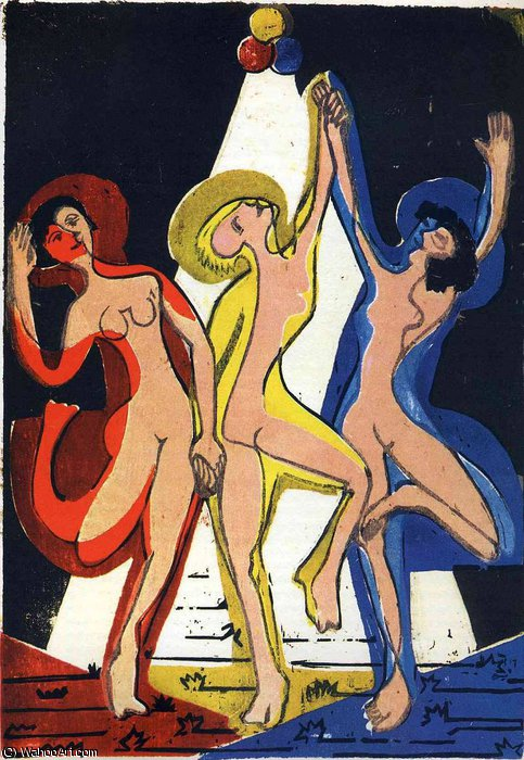 untitled (7390) di Ernst Ludwig Kirchner (1880-1938, Germany)