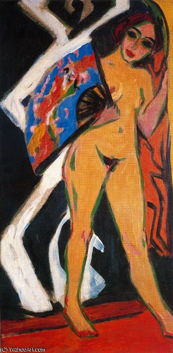 senza titolo 3704   di Ernst Ludwig Kirchner (1880-1938, Germany) | WahooArt.com
