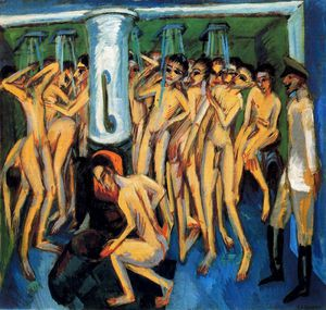 Ernst Ludwig Kirchner - senza titolo 9206