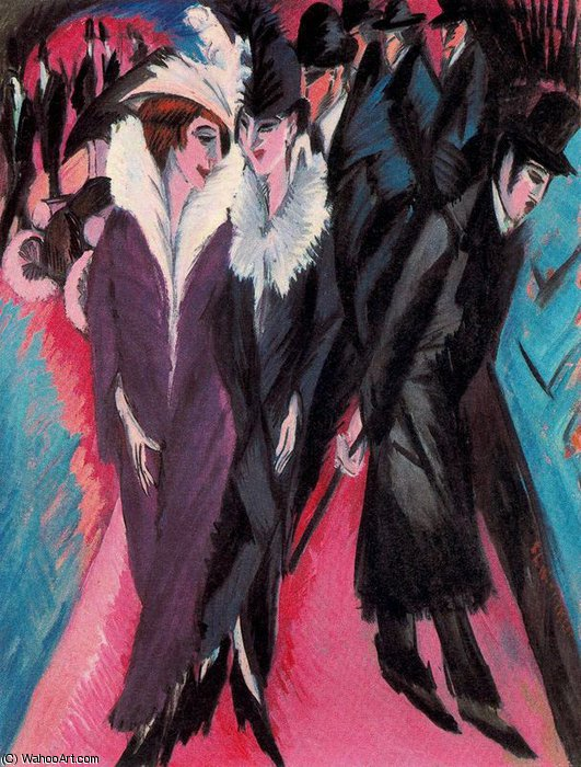 senza titolo 4373   di Ernst Ludwig Kirchner (1880-1938, Germany) | WahooArt.com